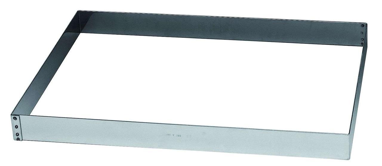 Форма для выпечки нержавейка кухонная посуда Прямоугольник h-50 мм Martellato