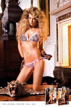 Комплект Zebra Bikini-Set With Lacing