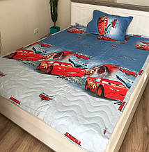 Детское  стеганое покрывало на кровать 160*210