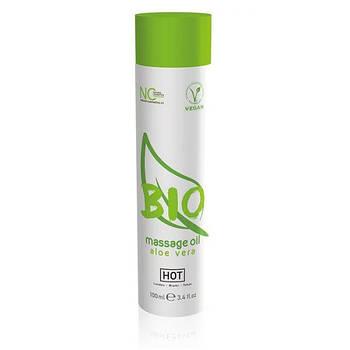 Масажне масло Hot Bio massage oil Aloe Vera, 100 мл