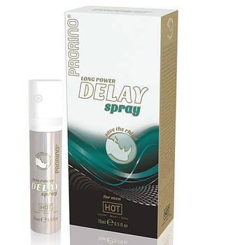 Спрей для продовження ерекції Prorino long power Delay Spray, 15 мл