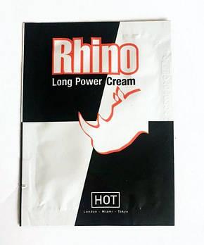 Подовжує крем Rhino Long power Cream (пробник), 3 мл