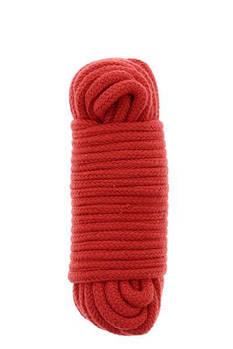 Бондажная мотузка BONDX LOVE ROPE - 10M, RED
