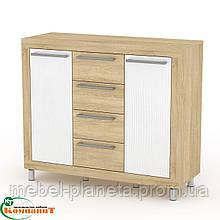 """Современная мебель для гостиной комнаты """"МГ-1 Тумба 3"""" Компанит"""