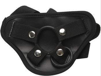 Трусики для страпона EGZO (чорні)