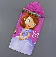 {есть:60*120 см.} Пончо детское для девочек Disney,  Артикул: 69970 [60*120 см.]