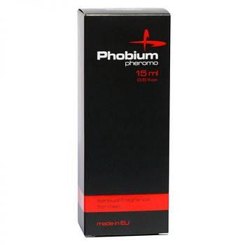 Духи з феромонами чоловічі Aurora PHOBIUM Pheromo for men, 15 мл