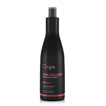 Бальзам для волосся і тіла з феромонами і афродизіаками «THE SECRET «10 в 1 Orgie