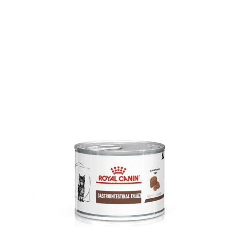 Royal Canin Gastro Intestinal Kitten - лечебный влажный корм для котят с проблемами пищеварения 195 г*12 шт