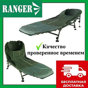 Карповая раскладушка Ranger BED 82. Карповая кровать Рейнджер 82. Раскладушка для рыбалки Коропова розкладушка