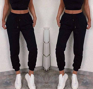 Чорні спортивні штани (Код MF-502)