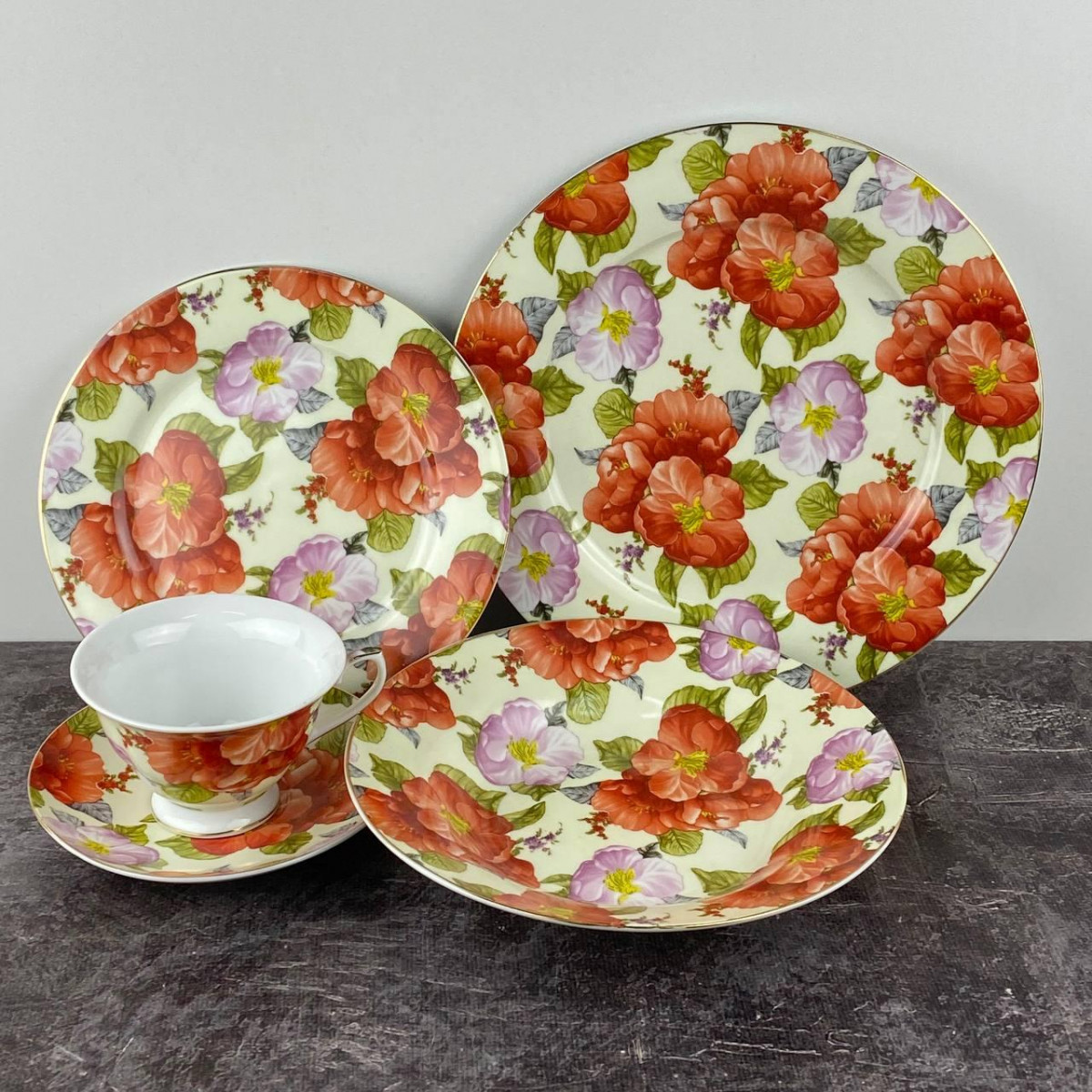 Сервиз столовый Ideal Сакура ID-2801 30 предметов