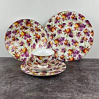 Сервиз столовый Ideal Сливы ID-2900 30 предметов, фото 1