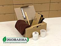 Ремкомплект ЕкоВанна Класік для ремонту сколів і тріщин на ванні, душовій кабіні, піддоні, фото 1