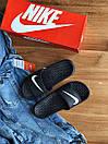 """Женские тапочки Nike Tanjun Sandal Flip-Flops """"Black"""", фото 3"""