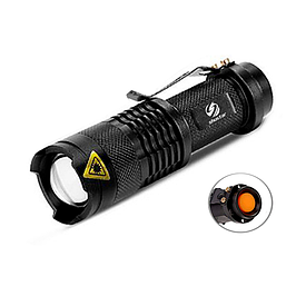 Фонарик Shustar S-002 XR-E Q5 IPX4 600 Lumen black