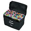 Набор маркеров для скетчинга 120шт Touch. Двухсторонние маркеры на спиртовой основе. Скетч-маркеры, фото 3