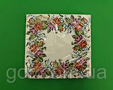 Гарна серветка (ЗЗхЗЗ, 20шт) La Fleur Квітковий вінок (1313) (1 пач.)