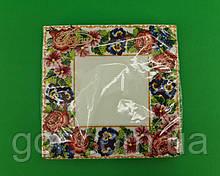Серветка декор (ЗЗхЗЗ, 20шт) La Fleur Квітковий орнамент (1306) (1 пач.)