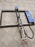 Новий лазерний верстат СО2 потужністю 80 Вт з робочим полем 1550мм х 800мм., фото 6