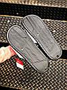 Чоловічі тапочки Nike Benassi Black logo black white, фото 6