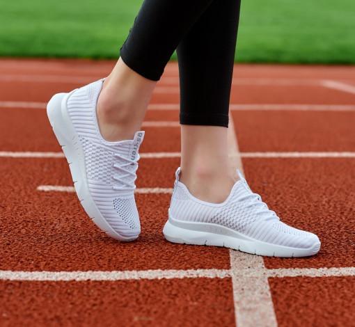 Кросівки жіночі літні білого кольору (Нс-588б)
