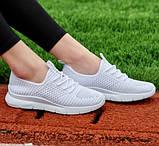 Кросівки жіночі літні білого кольору (Нс-588б), фото 3