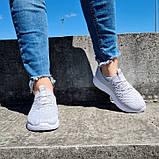 Кросівки жіночі літні сірого кольору (Нс-584ср), фото 2