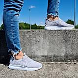 Кросівки жіночі літні сірого кольору (Нс-584ср), фото 4