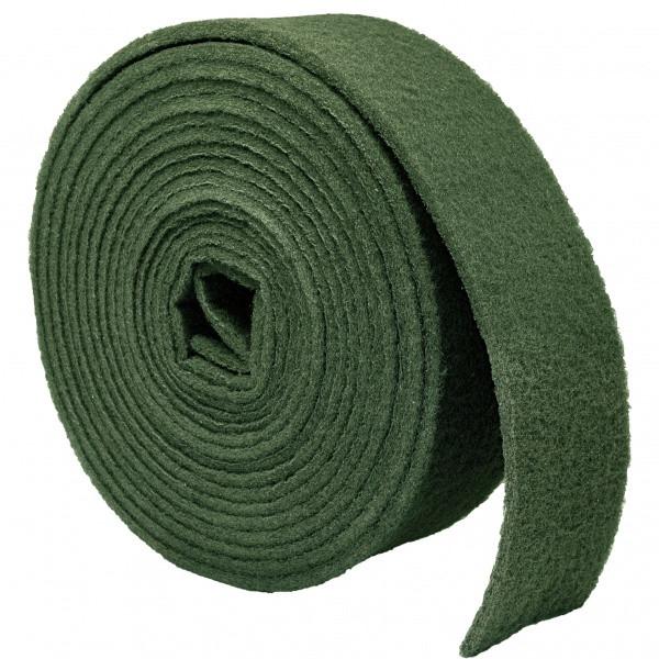 Скотч брайт рулон 115мм*10м зеленый P240