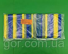 Скатертинка (105x200) СИНЯ Смуга (25 шт)