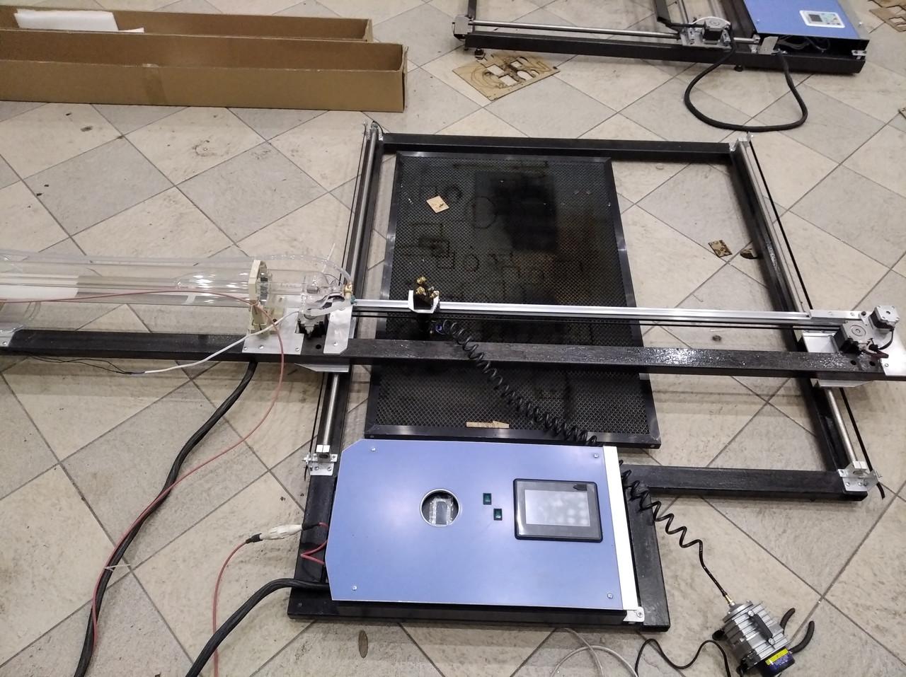 СО2 станок 100 Вт 1200*650 мм. Лазерный резак, гравер с ЧПУ. CO2 100W