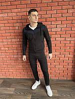 Чоловічий спортивний костюм,Матеріал : турецька двухнить,з капюшоном і кишенями(з-хл)