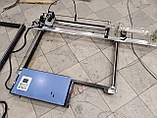 Лазерный СО2 станок, резак, гравер 80 Вт. Поле 125*75 см. Laser 80W, фото 2