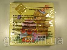 Серветка декор (ЗЗхЗЗ, 20шт) Luxy Торт для ведмедика 1009 (1 пач.)