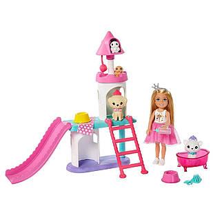 Ігровий набір Барбі Челсі Замок для домашніх тварин Barbie Princess Adventure Chelsea Pet Castle