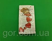 Гарна серветка (ЗЗхЗЗ, 10шт) Luxy MINI Закоханий їжачок (2032) (1 пач.)
