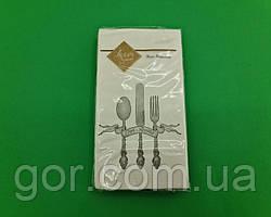 Гарна серветка (ЗЗхЗЗ, 10шт) Luxy MINI Приємного апетиту (2042) (1 пач.)