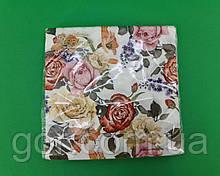Гарна серветка (ЗЗхЗЗ, 20шт) La Fleur Чудові троянди (1316) (1 пач.)
