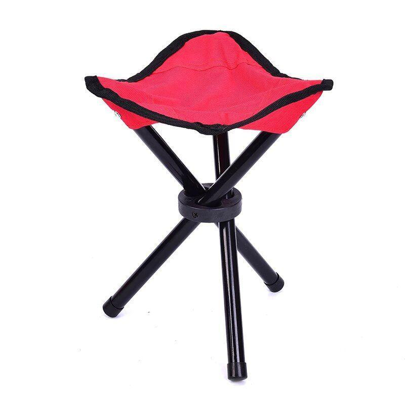 Стул раскладной туристический складной стул для пикника, рыбалки и кемпинга (Красный) стілець (GK)