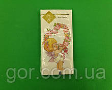 Гарна серветка (ЗЗхЗЗ, 10шт) Luxy MINI Подарунок від янголятка (2041) (1 пач.)