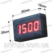 Мото термометр (датчик температуры + вольтметр для двигателей с воздушным охлаждением 12В), фото 3
