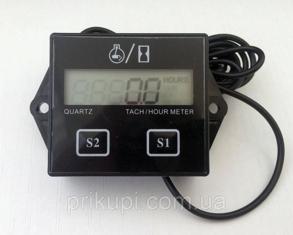 Цифровий тахометр лічильник мотогодин для бензопили, човнової мотора, мопеда 2-4 такти