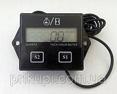 Цифровой тахометр   счетчик моточасов  для бензопилы, лодочного мотора, мопеда 2-4 такта