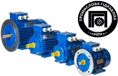 Електродвигун АИР112М2ІМ2081 7,5 кВт 3000об/хв лапи/фланець (електричний двигун АИР) 380В
