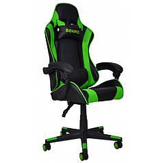 Крісло геймерське Bonro B-2013-2 зелене