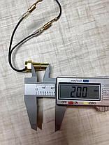 Цифровий датчик температури охолоджуючої рідини + вольтметр 12В-24В (ДІАМЕТР - 10 мм), фото 2
