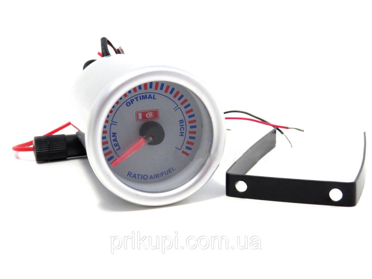 Стрілочний економайзер пального для автомобіля LED 7709 D52ММ