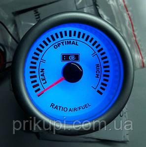 Стрілочний економайзер пального для автомобіля LED 7709 D52ММ, фото 2