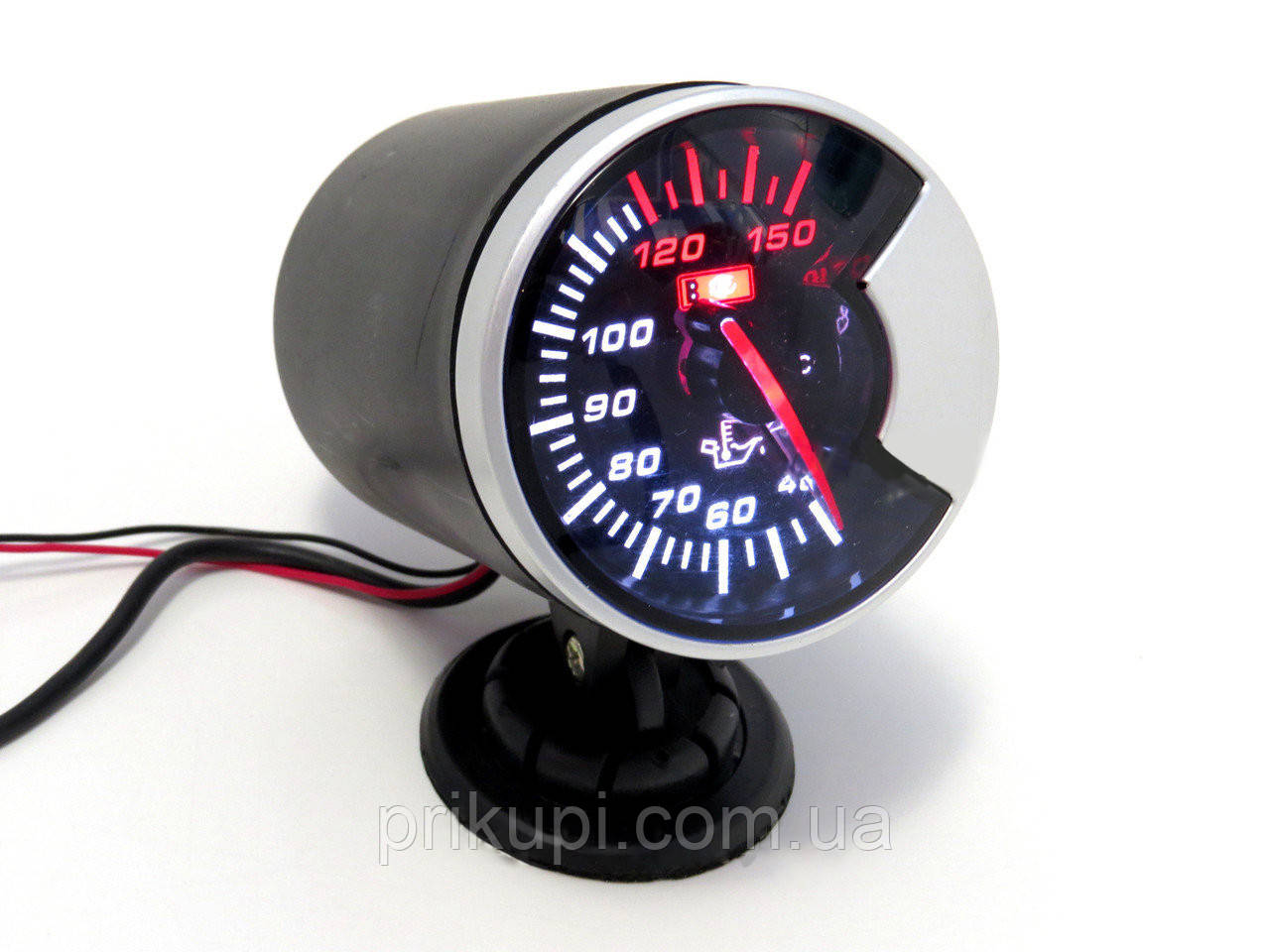 Электронный указатель температуры масла на ножке LED 602703 D60ММ